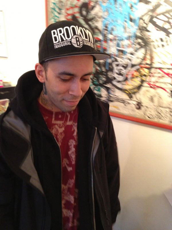 AVONE, the artist behing the Spring 2013 Artist Capsule Collection, visits Appaman HQ