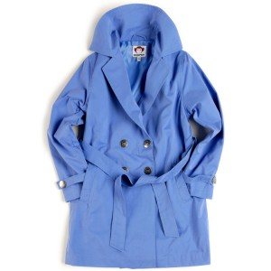 Trench Coat in Huckleberry, $64