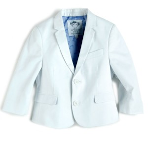 Boutique Blazer in Silver Moon, $93