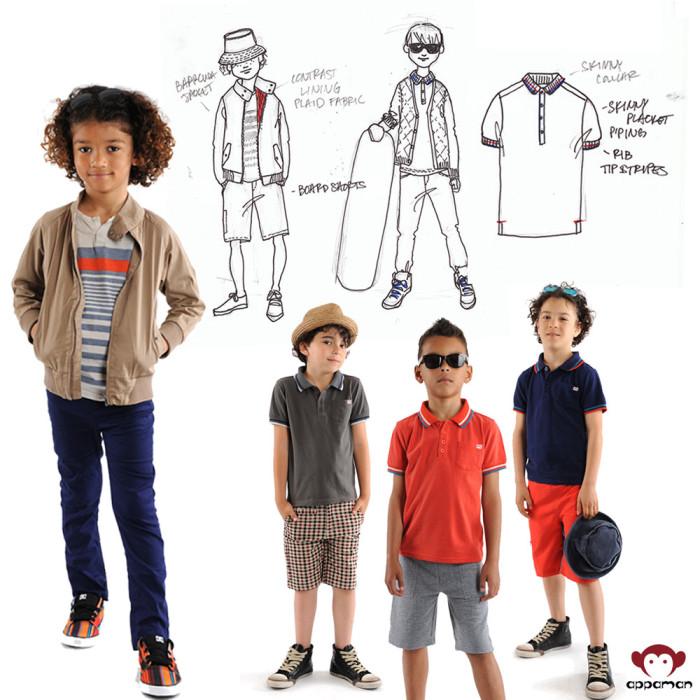 Barracuda Jacket, Board Shorts, Skinny Twill Pants, Polos
