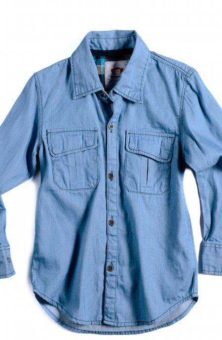 Girls Denim Shirt Appaman