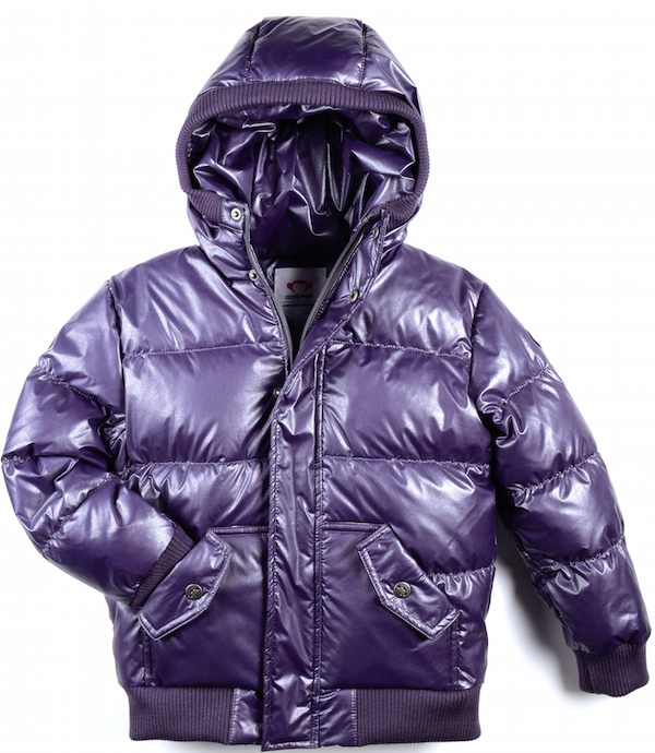 Appaman Girls Sparkly Puffy Coat