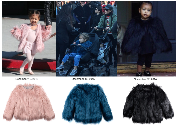 Appaman Faux Fur Coat Kardashians