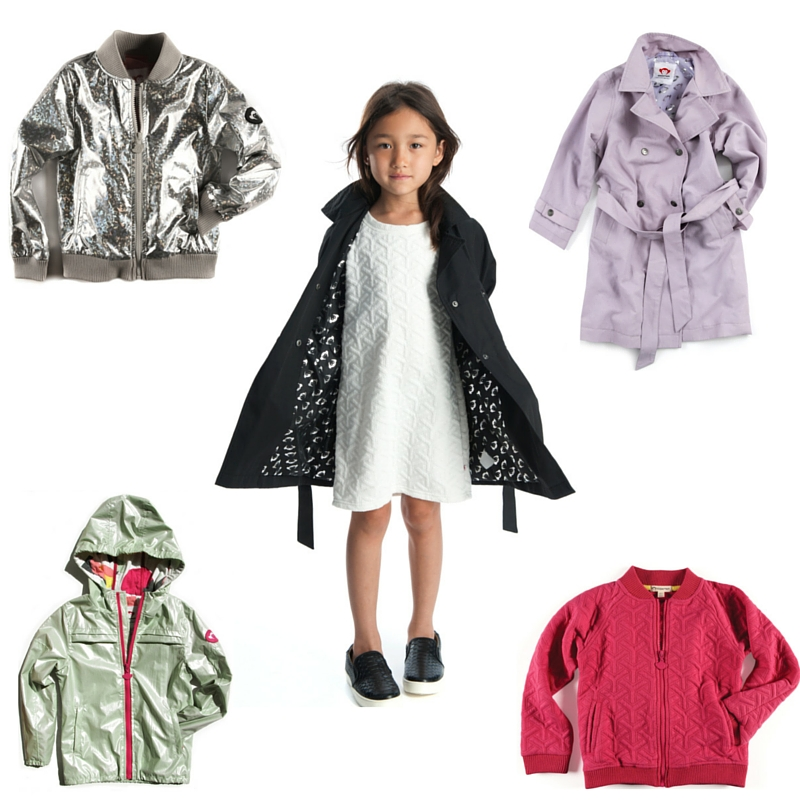 GIRLS JACKETS SPRING APPAMAN