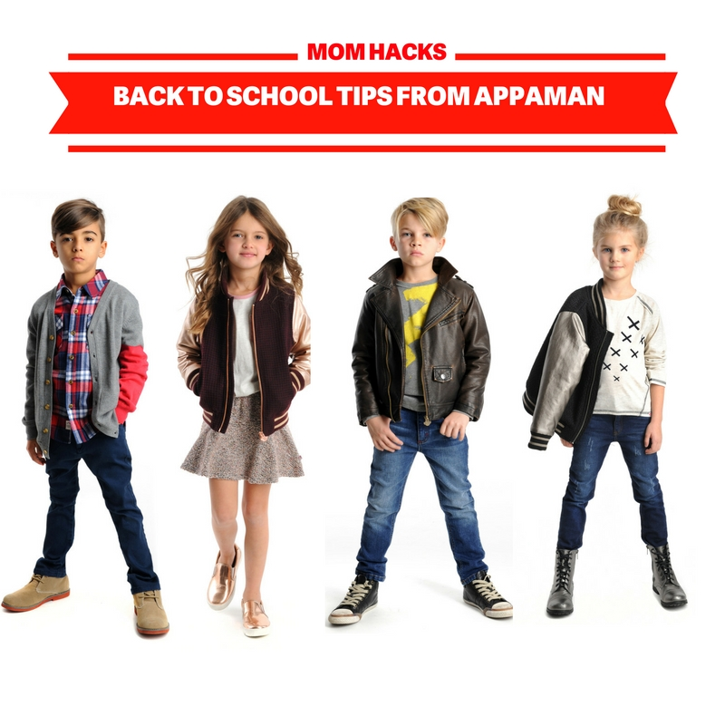 Back to School Tips | Appaman