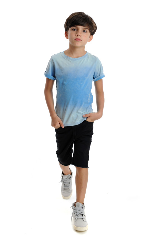 Roll Up Tee and Punk Shorts